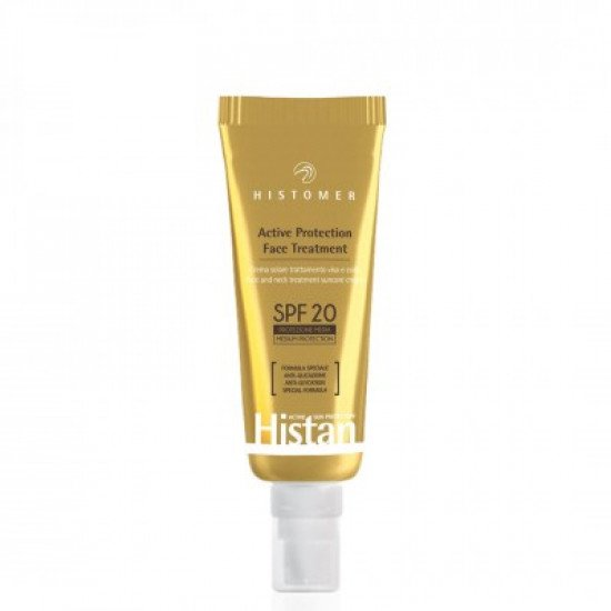 Крем для лица и шеи с эффектом анти-гликации СПФ-20 Histomer Histan Active Protection Face Cream