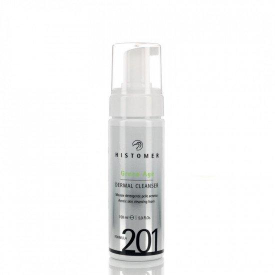 Очищающий мусс для проблемной и жирной кожи Histomer Green Age Dermal Cleanser