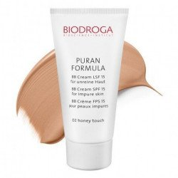 ВВ крем для проблемной кожи СПФ-15 тон 02 медовый Biodroga BB Cream SPF15 for impure skin
