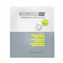 Лечебная маска для проблемной кожи Biodroga MD Clarifying Sheet Mask for impure skin