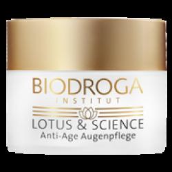 Крем для кожи вокруг глаз с экстрактом лотоса Biodroga Anti-Age Eye Care