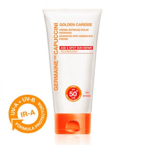 Антивозрастной солнцезащитный крем СПФ50 Germaine de Capuccini SUN CREAM WITH UNIVERSAL ANTI-AGE PROTECTION SPF50