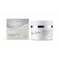 Успокаивающая крем-маска с маслом зверобоя Dr.Spiller Honey St.John's Wort Cream Pack
