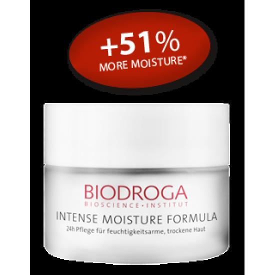 Интенсивный увлажняющий 24-часовой крем для сухой и обезвоженной кожи Biodroga 24-h Care for moisture-deficient skin dry skin