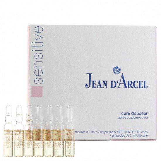 Концентрат антистресс для кожи с куперозом Jean d'Arcel SOS cure douceur