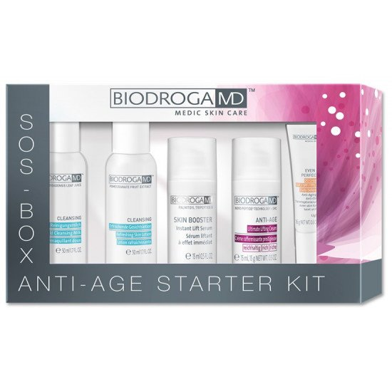 Набор для омоложения Biodroga MD Anti-Age Starter Kit