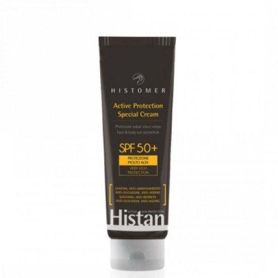 Солнцезащитный крем для тела и лица СПФ-50+ Histomer Histan Active Protection Special