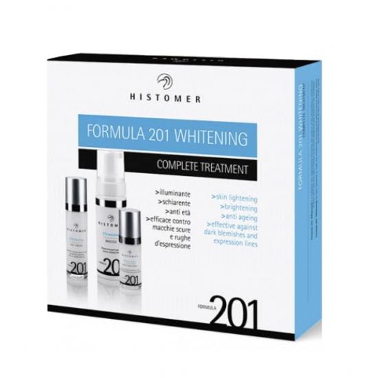 Набор косметики для осветления кожи лица Histomer Formula 201 Whitening Complete Treatment Kit