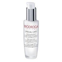 Сыворотка-флюид с АНА-кислотами от морщин и пигментных пятен Biodroga AHA Facial Fluid