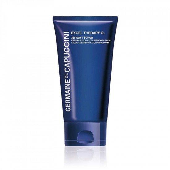 Скраб-пенка для лица 365 Germaine de Capuccini Excel Therapy O2 365 Soft Scrub Tube