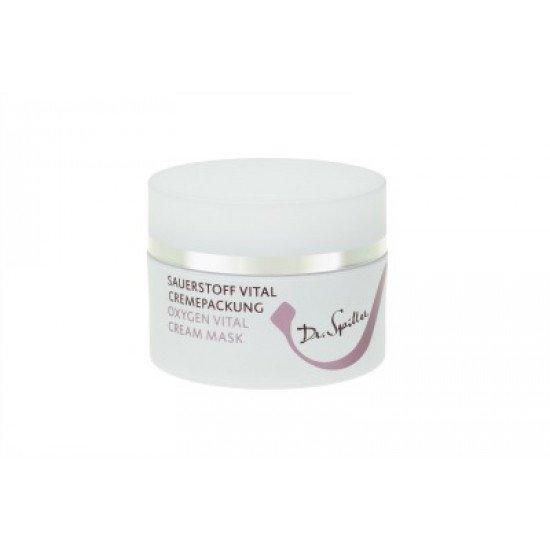Омолаживающая крем-маска Оксиген Dr.Spiller Oxygen Vital Cream Pack