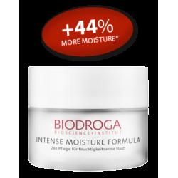 Интенсивный увлажняющий 24-часовой крем Бета Глюкан для обезвоженной кожи Biodroga 24-h Care for moisture-deficient skin