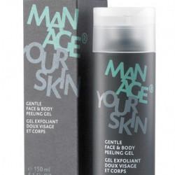 Мужской гель-пилинг для лица и тела Dr. Spiller Gentle Face&Body Peeling Gel