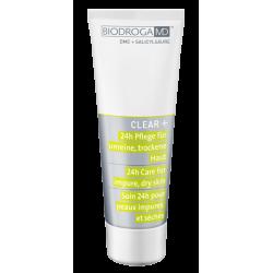 Крем для лечения проблемной сухой кожи 24-часового действия Biodroga MD 24h Care for impure dry skin
