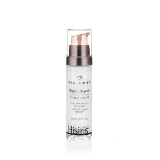Ночной восстанавливающий крем для чувствительной кожи лица Histomer Hisiris Night Repair Dermal Cream