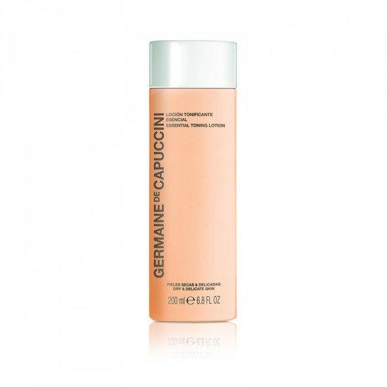 Тоник для сухой и чувствительной кожи Germaine de Capuccini Options Essential Toning Lotion