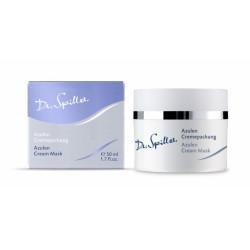 Успокаивающая крем-маска с азуленом для чувствительной кожи Dr.Spiller Azulen Cream Pack