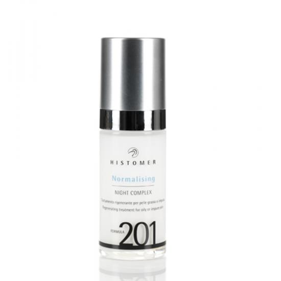 Сыворотка ночная для выравнивания тона кожи Histomer Formula 201 Whitening night concentrate