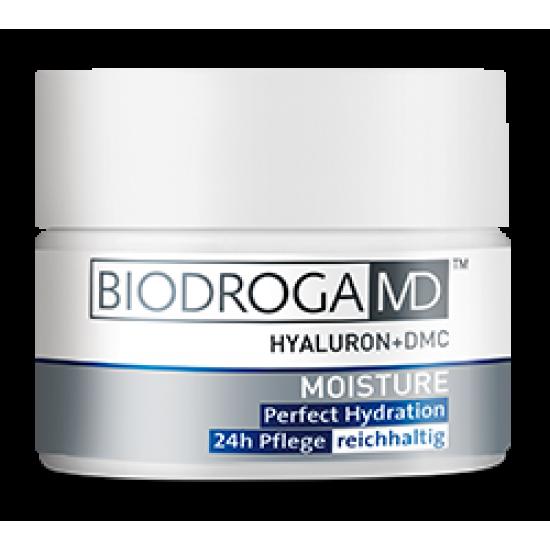 Идеально увлажняющий насыщенный крем 24-часового действия Biodroga MD Perfect Hydration 24h Care -extra rich-