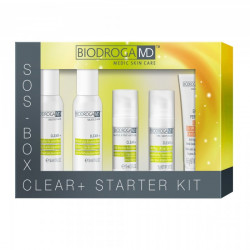 Набор косметики по уходу за проблемной кожей Srarter Kit Biodroga MD Clear+ Starter Kit