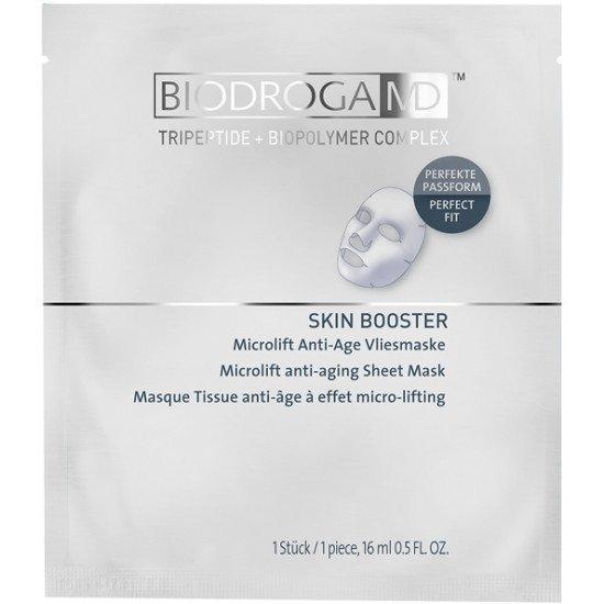 Маска для лица против старения MICROLIFT Biodroga MD Microlift Anti-Age Sheetmask