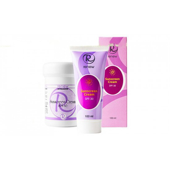 Солнцезащитный крем с защитным фактором SPF 30 Renew Sunscreen Cream SPF 30