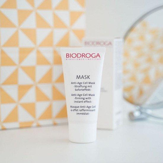 Клеточная антивозрастная маска для лица Biodroga Anti-Age Cell Mask