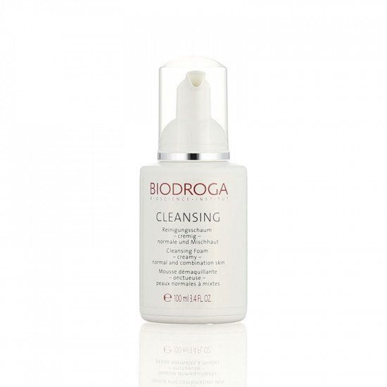 Очищающая пенка для нормальной и комбинированной кожи Biodroga Cleansing Foam creamy normal and combination skin