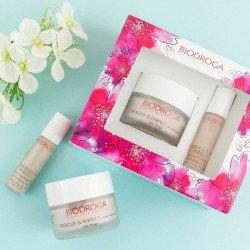 Набор косметики ENERGIZE PERFECT Biodroga 24h Care for normal skin + Eye Care