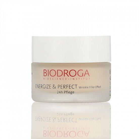 Крем против морщин 24-часового действия Biodroga Wrinkle Filler Effect 24-h Care