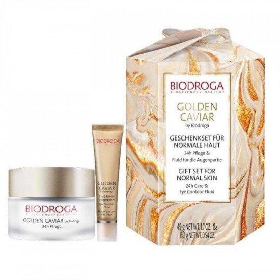 Набор косметики с экстрактом черной икры для сухой кожи Biodroga Gift Set for Dry Skin
