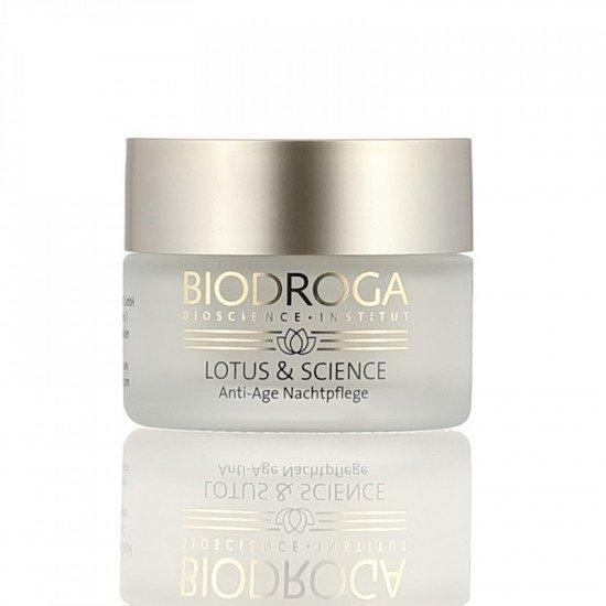 Ночной крем с экстрактом лотоса Biodroga Anti-Age Night Care