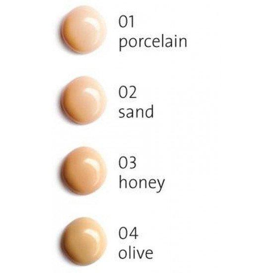 Тональный крем с эффектом заполнения морщин 02 Песок Biodroga Anti Age Soft Focus with filler effect