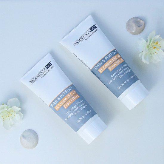 Солнцезащитный ЕЕ крем с тоном Medium Biodroga MD EE Cream Even Effect Medium Sun Kissed