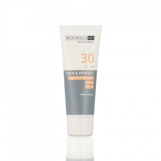 Солнцезащитный крем с высоким фактором защиты СПФ-50 Biodroga MD High UV Protection Cream SPF 50