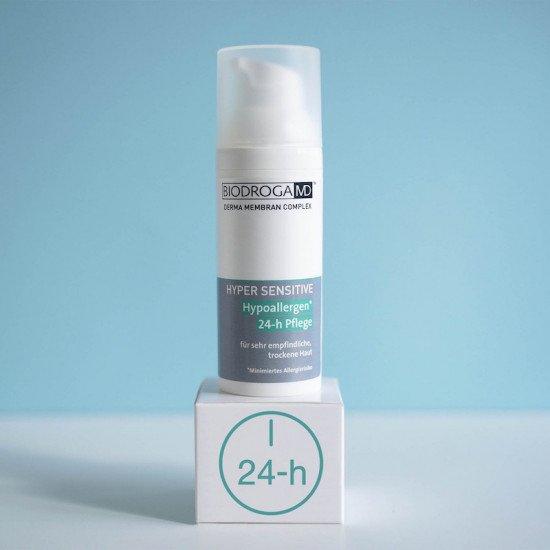 Гипоаллергенный крем 24-часового действия для сухой чувствительной кожи Biodroga MD Hypoallergen 24-h Care for very sensitive and dry skin