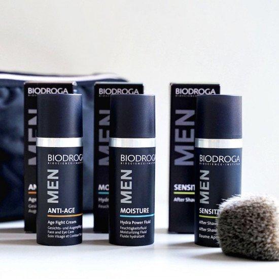 Увлажняющий крем для лица и бороды Biodroga Hydra Power Fluid