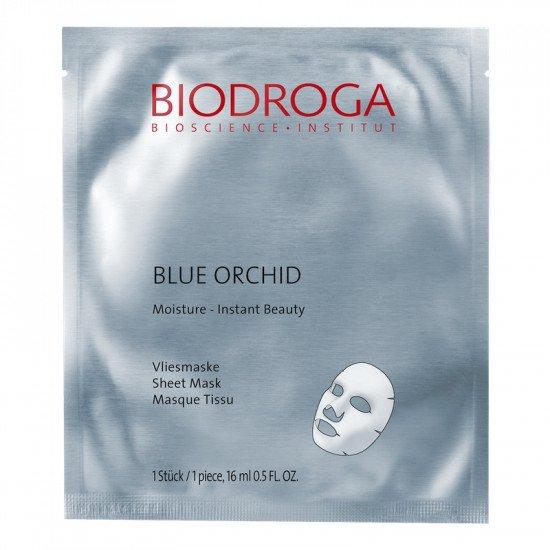 Увлажняющая маска моментального действия Голубая Орхидея Biodroga Moisture Blue Orchid Sheet Mask