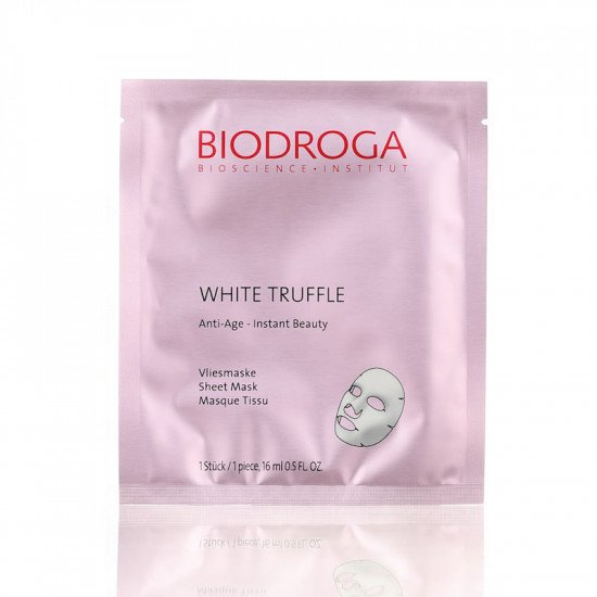 Anti-Age маска моментального действия Белый Трюфель Biodroga Anti-Age White Truffle Sheet Mask