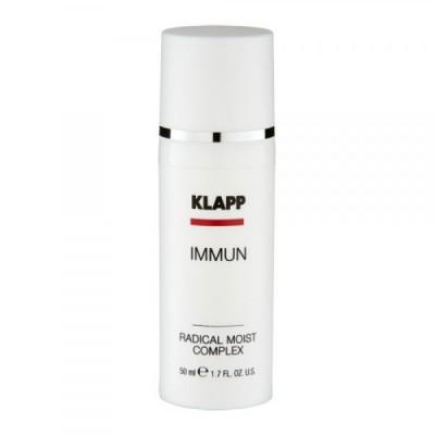 Ультралегкая эмульсия с мгновенным увлажняющим эффектом KLAPP Immun Radical Moist Complex