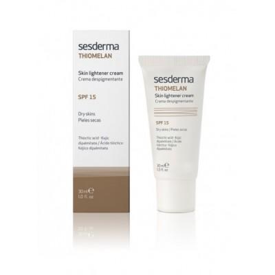Отбеливающий крем Sesderma Thiomelan skin lightener cream SPF 15