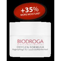 Омолаживающий кислородный крем для кожи вокруг глаз Biodroga Eye Care for sallow skin