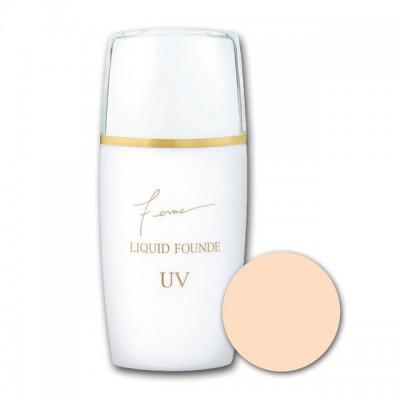 Жидкая тональная основа тон 01 UV30 Isehan Liquid Founde