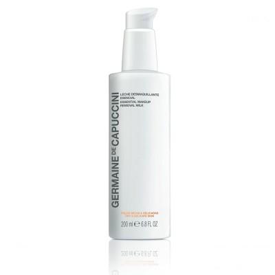 Молочко для сухой и чувствствительной кожи Germaine de Capuccini Options Essential Makeup Removal Milk