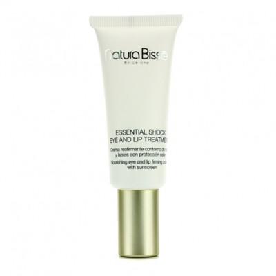 Крем для ухода за сухой кожей в области глаз и губ SPF15 Natura Bisse Essential Shock Eye Lip Treatment
