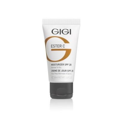 Увлажняющий дневной крем SPF 20 Ester C GIGI Moisturizer SPF 20
