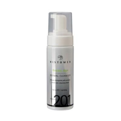 Очищающий мусс для проблемной и жирной кожи Histomer Formula 201 Green Age Dermal Cleanser