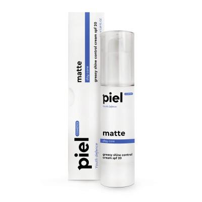 Увлажняющий дневной крем c матирующим эффектом для нормальной и комбинированной кожи SPF20 Piel Cosmetics MATTE Cream SPF20 Day Care