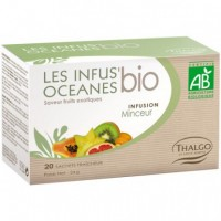 Органический травяной настой для похудения Thalgo LES INFUS'OCEANES REFINING