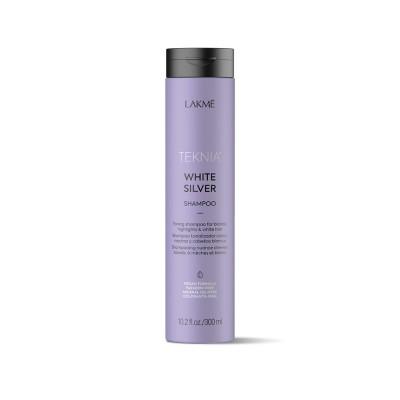 Шампунь для светлых и осветленных волос 300 мл Lakme Teknia White Silver Shampoo